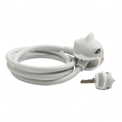 Crazy Safety White Shark Bike Lock-listing