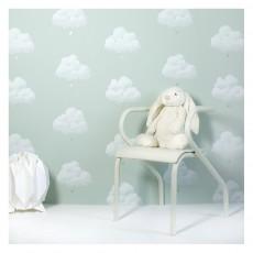 Bartsch Papel pintado Nubes de Algodón - Verde agua-listing