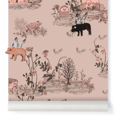 Sian Zeng Magnetische Tapete Aimants Woodland - Puder Rosa-listing