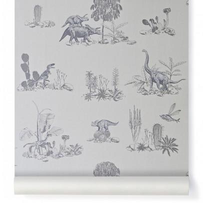 Sian Zeng Papier peint dino - Gris-listing