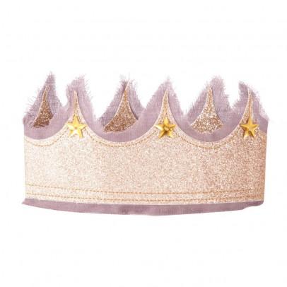 Numero 74 Corona da fata- Lilla e dorata-listing