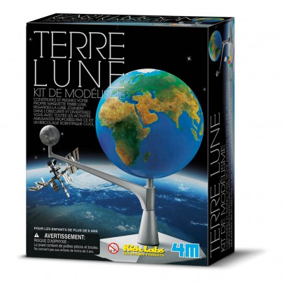 4M Earth and Moon Modelling Kit-listing