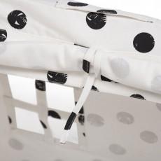 Deuz Mini-Zelt-schwarz gepunktet-listing