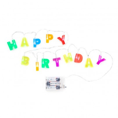 Kikkerland Happy Birthday Garland-listing