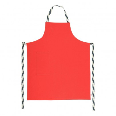 La cerise sur le gâteau Cotton Canvas Traditional Apron-listing