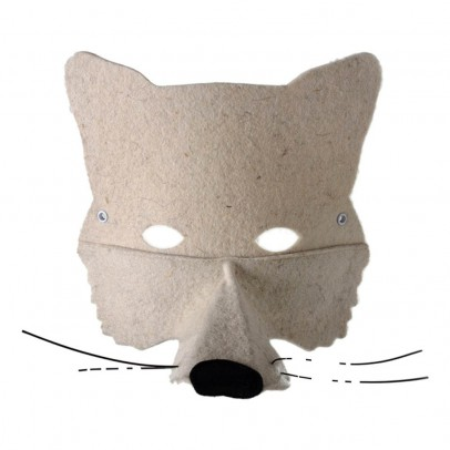 Frida's Tierchen Felt Wolf Mask-product