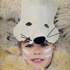 Frida's Tierchen Máscara de fieltro lobo-listing