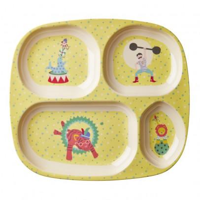 Rice Piatto scompartimenti circo bambino-listing