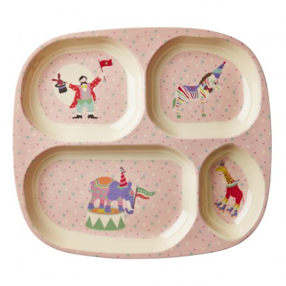 Rice Girls Circus Compartment Plate-listing