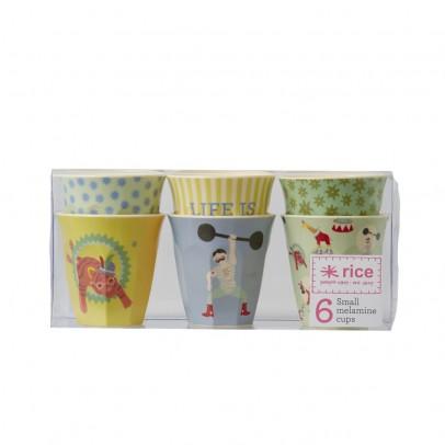 Rice Set de 6 gobelets cirque garçon-listing