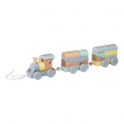 Bloomingville Kids Nachziehspielzeug Zug -product