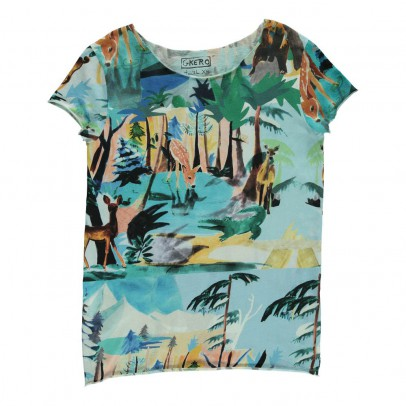 G.KERO Winter Forest T-Shirt-listing