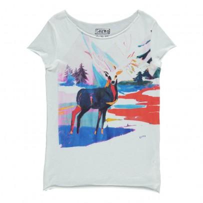 G.KERO T-Shirt Cerf Eternal Deer-listing