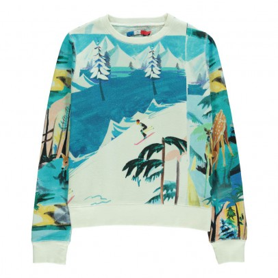 G.KERO Sweatshirt Forêt Winter -listing