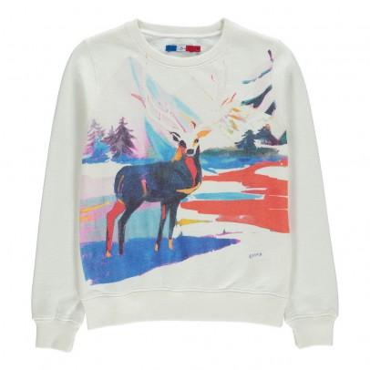 G.KERO Sweatshirt Cerf Eternal Deer-listing