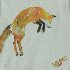 G.KERO Sweat Fox And Rabbit-listing