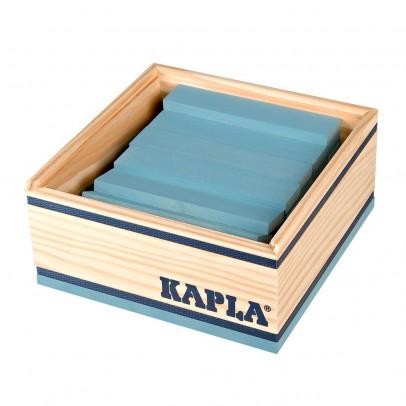 Kapla Cofre Cuadrado 40 fichas - Azul claro-listing