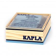 Kapla Cofanetto Quadrato 40 planchettes - Blu chiaro-listing