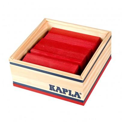 Kapla Coffret Carré 40 planchettes - Rouge-listing