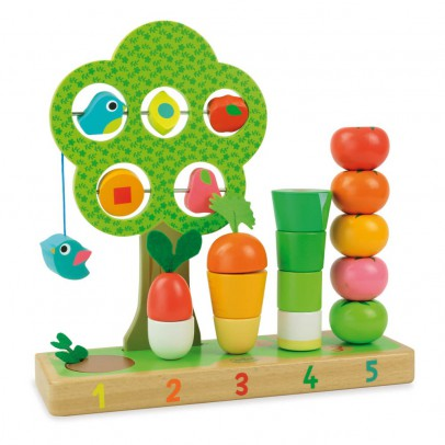Vilac Learn to Count Vegetables Game-listing