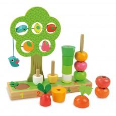 Vilac J'apprends à compter les légumes-listing