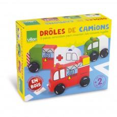 Vilac Drôle de camions-listing