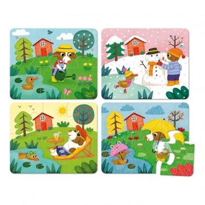 Vilac Puzzles Les 4 saisons-listing