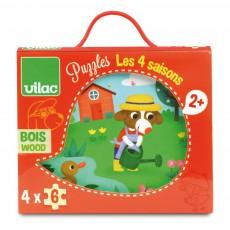 Vilac 4 Seasons Puzzle-listing