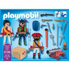 PLAYMOBIL® Equipage de pirates avec armes réf.5136-listing