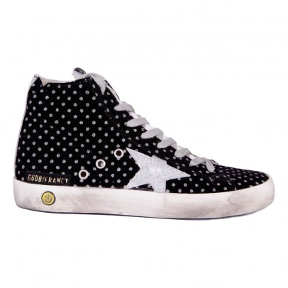 Golden Goose Francy Dots Zip-up Trainers-listing