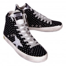 Golden Goose Sneakers con Zip a Pois Francy-listing