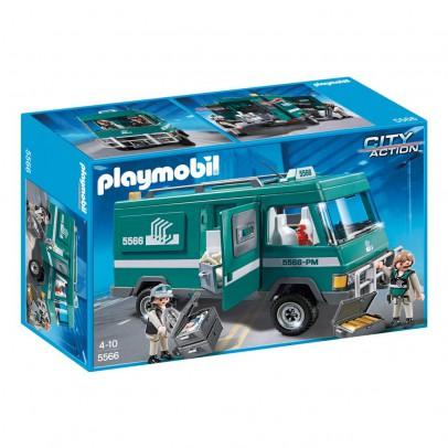 PLAYMOBIL® Convoyeurs de fonds avec véhicule blindé réf.5566-listing