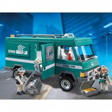 PLAYMOBIL® Money Transport Vehicle No.5566-listing