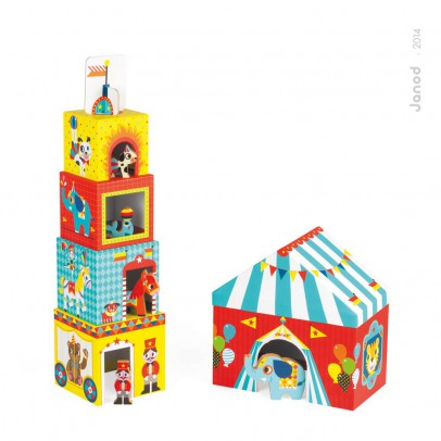 Janod Multiwürfel Zirkus -listing