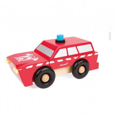 Janod SUV Fireman Magnet Kit-listing