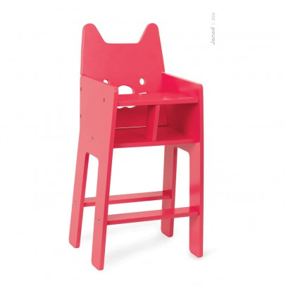 Janod High Chair for Babycat Doll-product