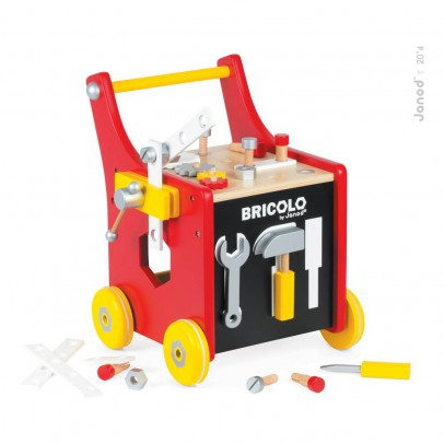 Janod Bricolo Magnetic Redmaster Chariot-product