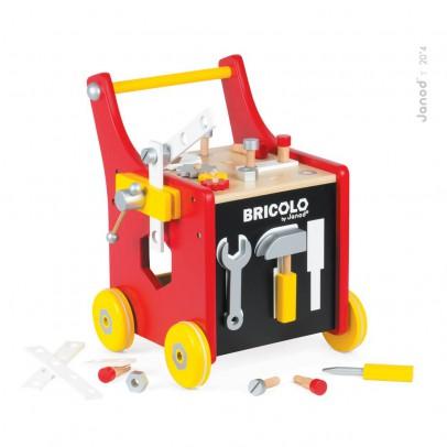 Janod Chariot Bricolo magetico Redmaster-listing