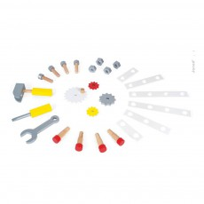 Janod Carro Bricolaje magnético Redmaster-listing