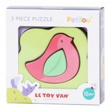 Le Toy Van Puzzle-3 Teile- Vogel -listing