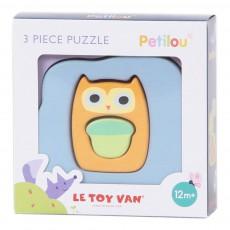 Le Toy Van Puzzle 3 pezzi- Chouette-listing