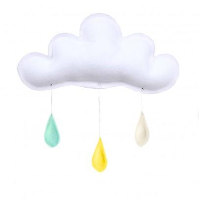 The Butter Flying Móvil Gotas de lluvia menta - amarillo - crema-listing