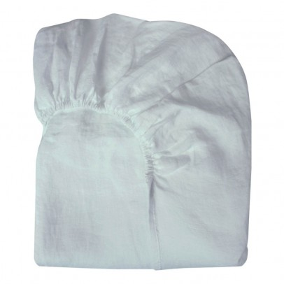 Lab Spannbetttuch aus Leinen -product
