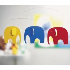 Flensted Giostrina culla Elephant Party-listing