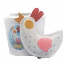 La Sardine Kit à coudre doudou Cot-Cot la poule-listing