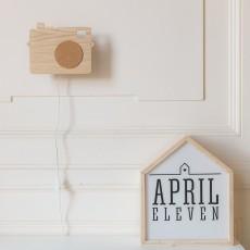 April Eleven Camera wall decoration-listing