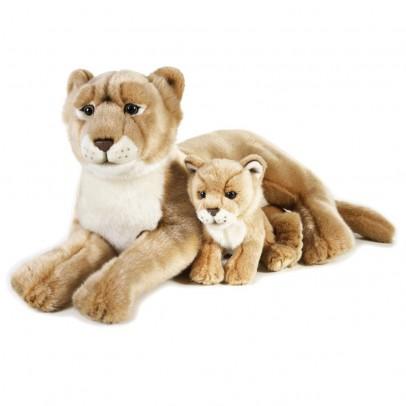National Geographic Lionne et son bébé 48 cm-listing