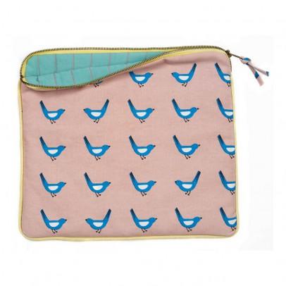 MIMI'lou Protège tablette Oiseaux bleus-listing