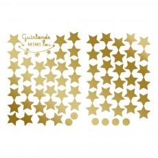 MIMI'lou Kit guirlande DIY Etoiles dorées-listing