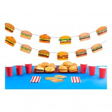 DOIY Burger Girlande -listing